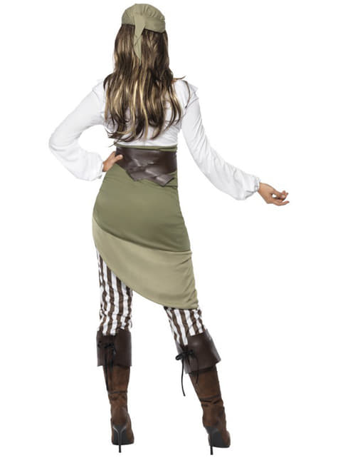 Piraat van de Zee kostuum voor vrouw