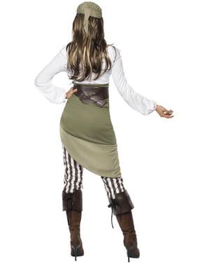 Déguisement de pirate pour femme avec bandana