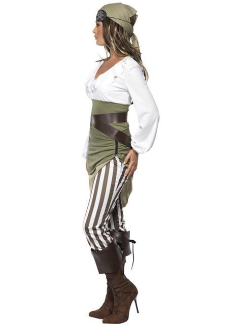 Vestito piratessa per donna