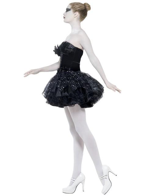 Schwan Kostüm schwarz