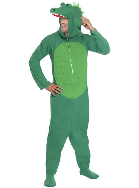 Deluxe Κροκόδειλος κοστούμι