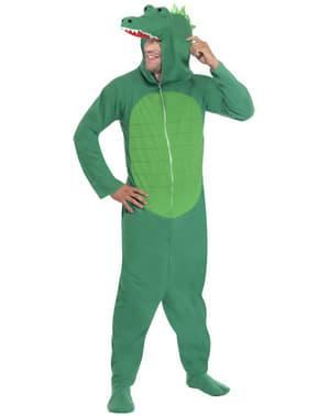 Декоративний костюм крокодила