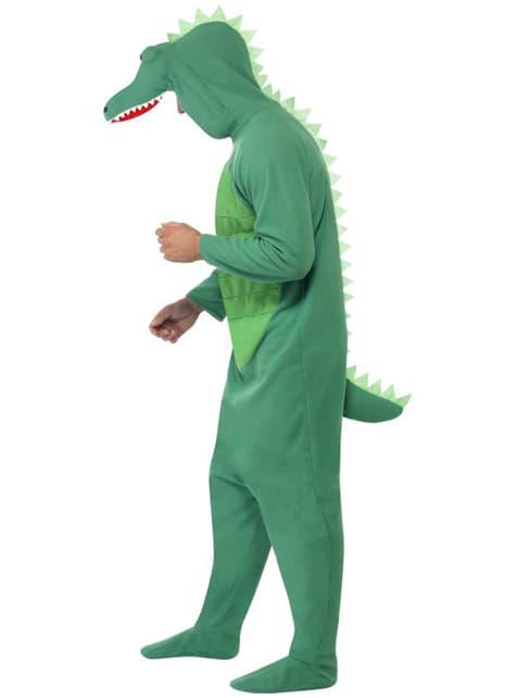 Krokodil Deluxe Maskeraddräkt