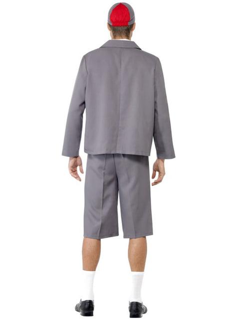 Disfraz de colegial travieso - hombre