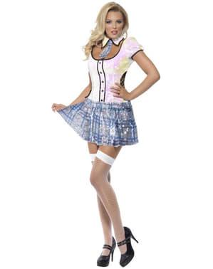 Dámský kostým sexy školačka