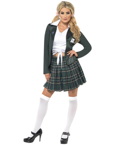 Smug School Girl Costume ...