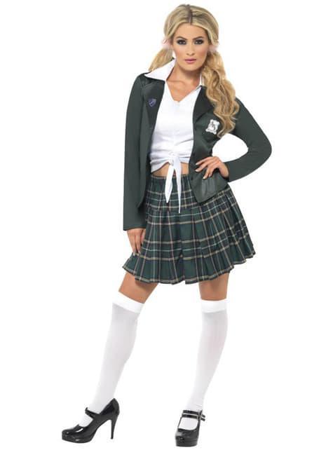 Verwaand Schoolmeisje kostuum