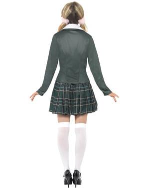 Indbildsk skolepige kostume