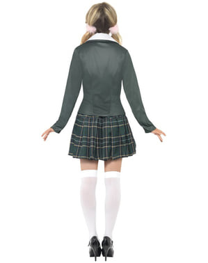 Самодовольний костюм дівчини школи