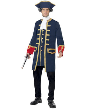 Commandant Piraat kostuum