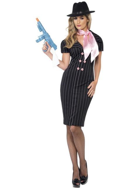 Kostium dziewczyna gangstera