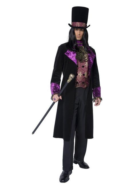Disfraz de conde gótico