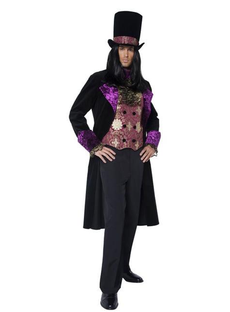 Disfraz de conde gótico - hombre