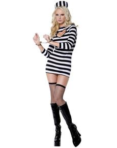 Prisoner costume bondage