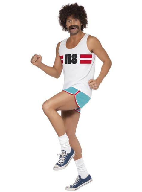 118 manlig löpare Maskeraddräkt