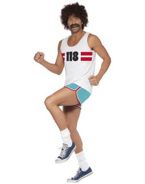 Kostým běžec číslo 118