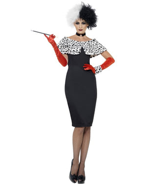 Cruella De Vil kostume