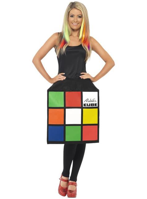 Rubiks terning 3D kostume