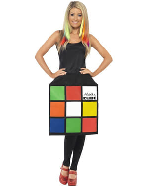 Rubiks Cube 3D kostuum