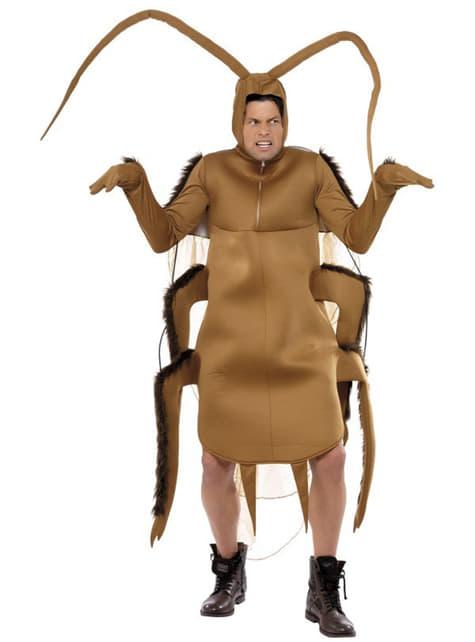 Кафяв костюм на хлебарка