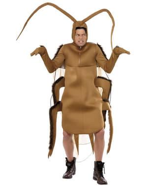 Costume scarafaggio marrone