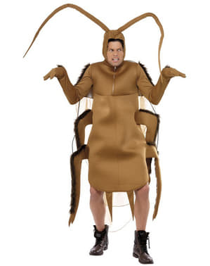 Disfraz de cucaracha marrón