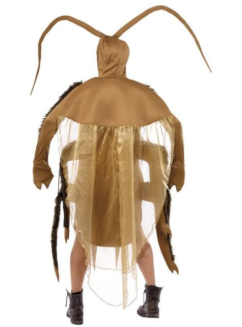 Disfraz de cucaracha marrón - adulto