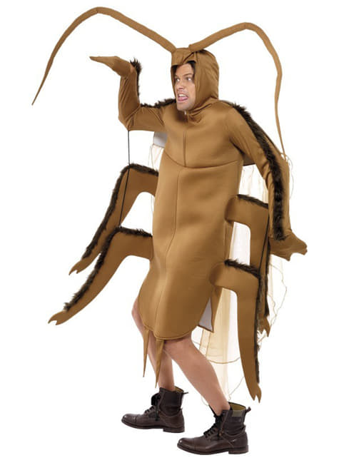 Disfraz de cucaracha marrón - original