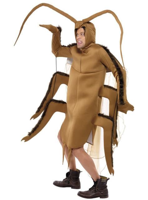 Strój karaluch brązowy