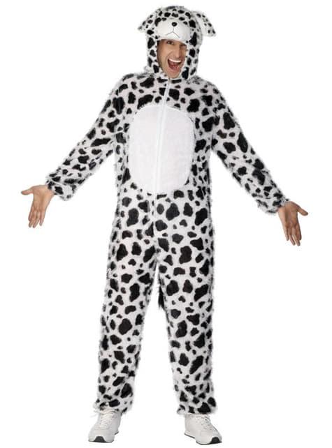 Kostým dalmatínskeho psa pre dospelých