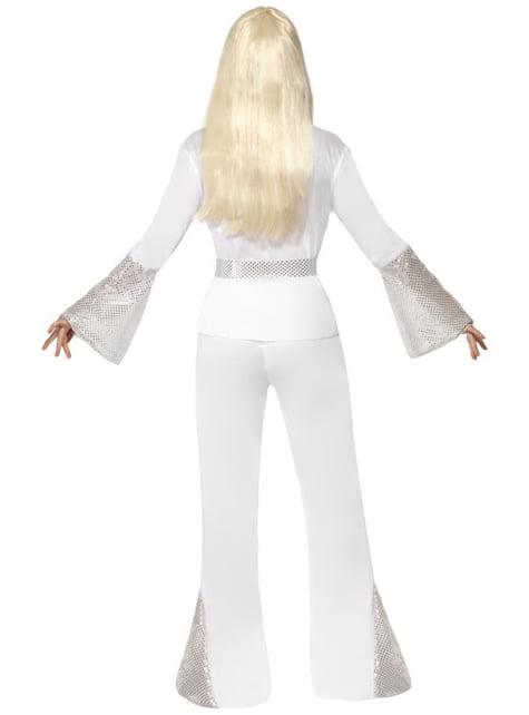 Disfraz de discotequera de los años 70 - mujer