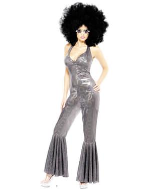 Disfraz años 70 de disco para mujer
