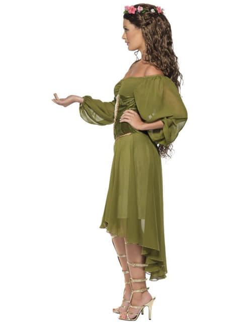 Disfraz de doncella de feria - original