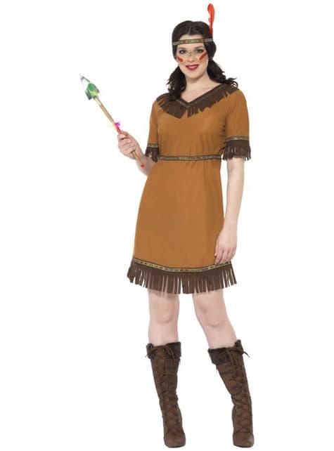 Indianer kostume til kvinder