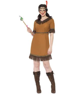 Indianer kostyme dame