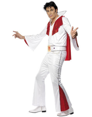Kostium biały Elvis