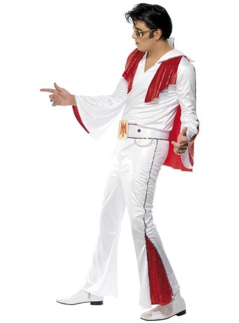 Elvis Maskeraddräkt Vit