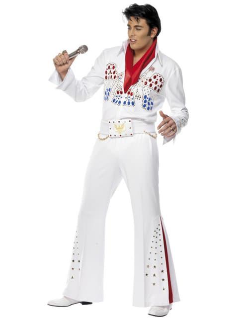 Amerikaanse Adelaar Elvis kostuum