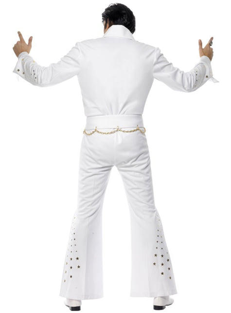 Disfraz de Elvis Águila Americana - hombre