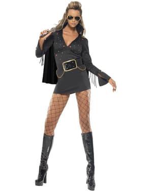 Kostium Elvis Viva Las Vegas czarny