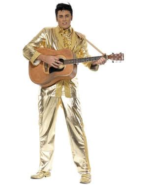 Costume Elvis dorato