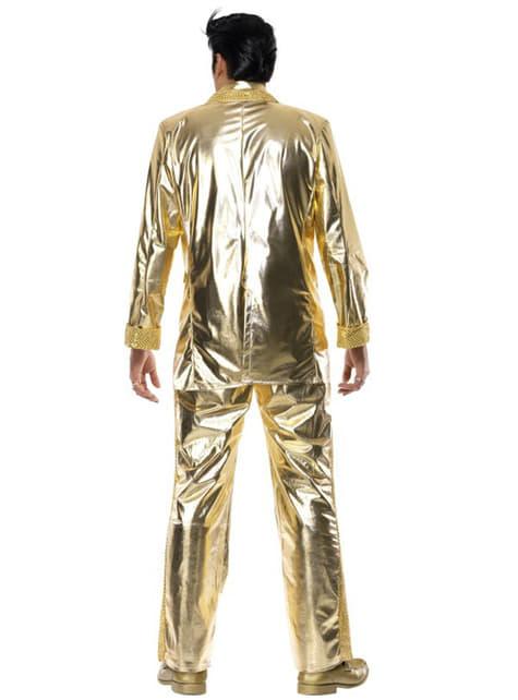 Disfraz de Elvis dorado - original