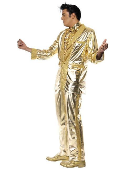 Disfraz de Elvis dorado - Halloween