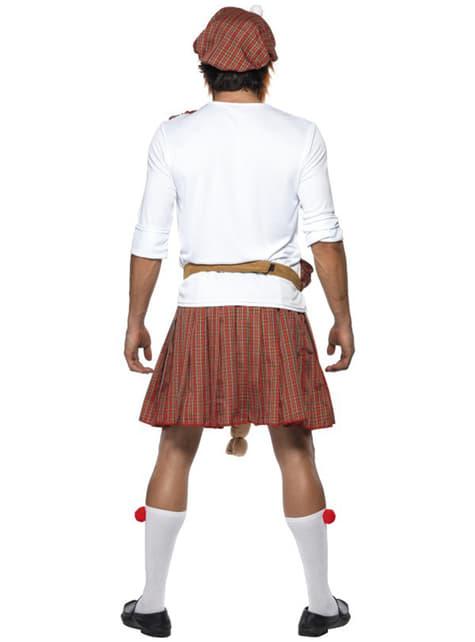 Disfraz de escocés bien dotado