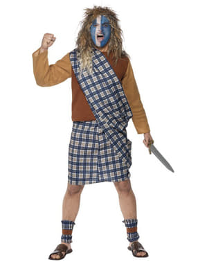 Disfraz de escocés valiente