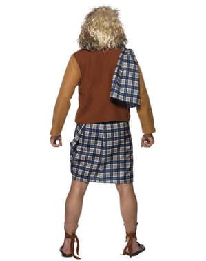 Costume scozzese coraggioso