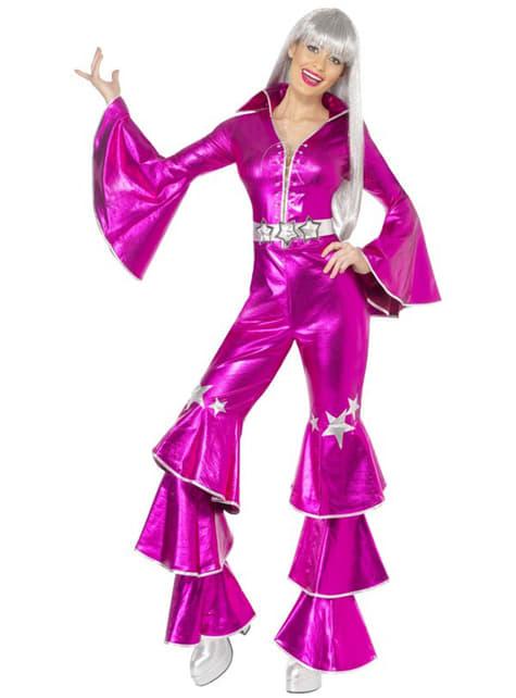Розов костюм на ABBA