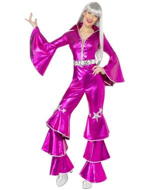 Disfraz de Abba rosa años 70