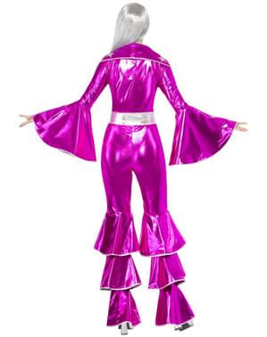 Roze Abba kostuum jaren 70