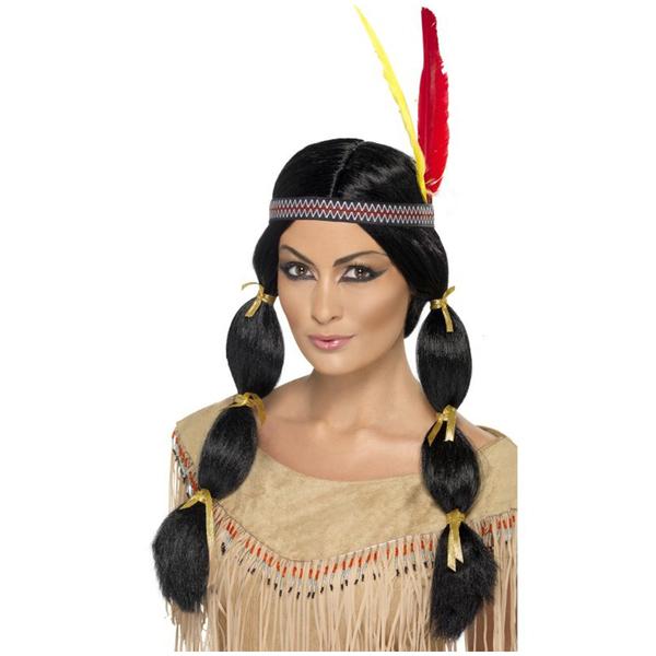 Pelucas de indios y vaqueros